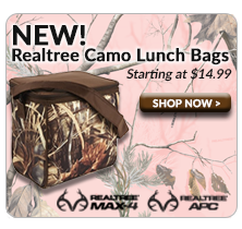 Fit & Fresh Realtree Lunch Bags