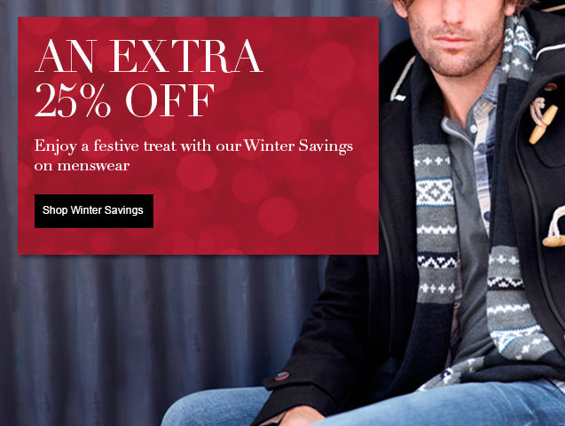An Extra 25% off