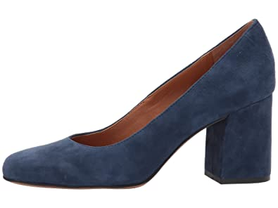 Franco Sarto Women's Taisley Navy Kid Suede 4 ...