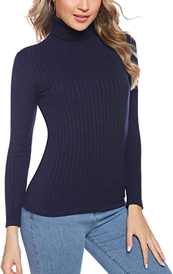 pull femme col roule hiver amazone