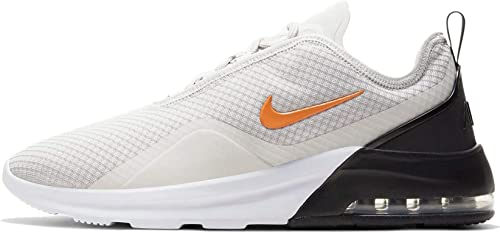 Nike Air Max Motion 2 Men's Running Shoes, Black, Volt, White, Total Orange, EU 44