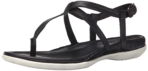 Ecco Flash T Strap Sandal II In Dress Women Ecco Black
