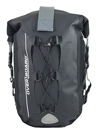 Amazon.com : OverBoard 20-Liter Waterproof Backpack, Black ...