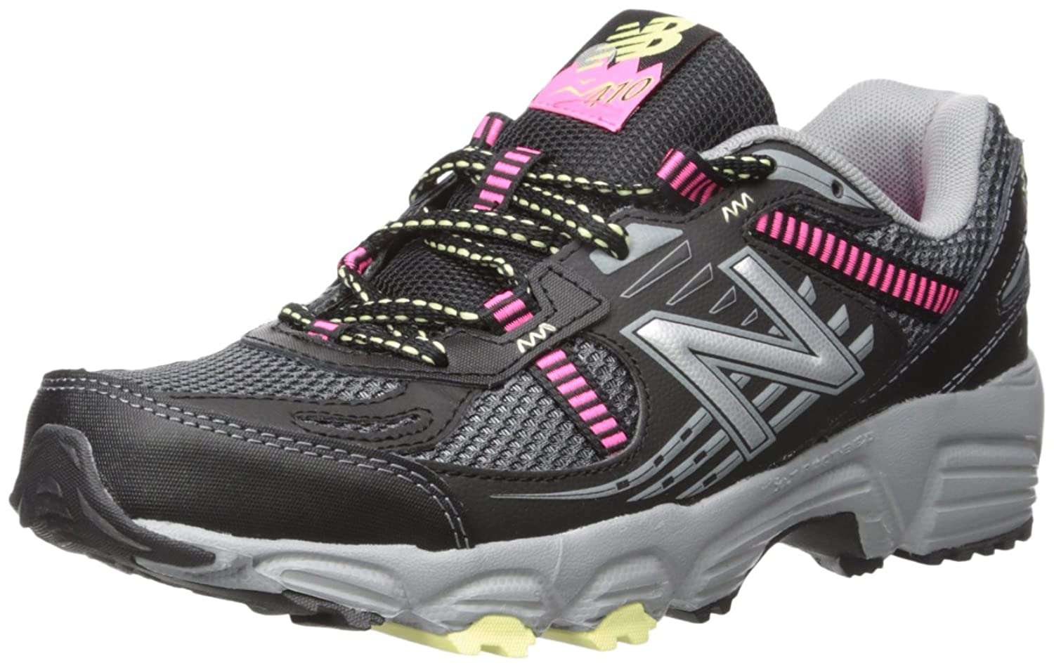 New Balance Women's WT410V4 Trail-Running Shoes Black/Pink