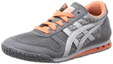 Onitsuka Tiger Ultimate 81 PS Running Shoe (Toddler/Little Kid),Grey Leopard