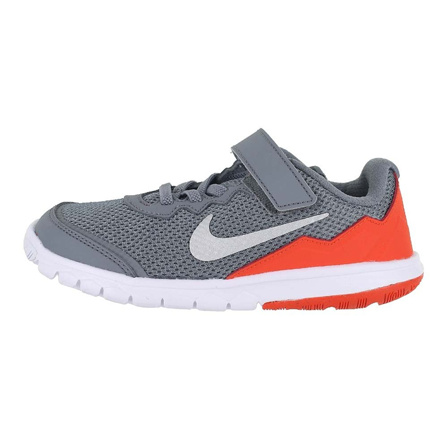 Amazon.com: NIKE Kids Flex Experience 4 (PS) Shoes (1.5 M US Little Kid,  Grey/Silver/Orange): Shoes