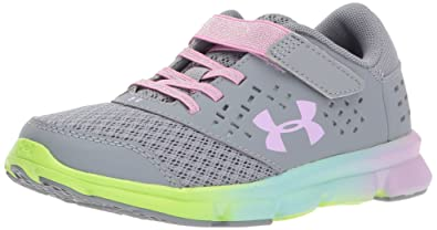 Girls' Armour Kids' Closure Pre Prism Under Shoe School Rave Adjustable Running 54LARj