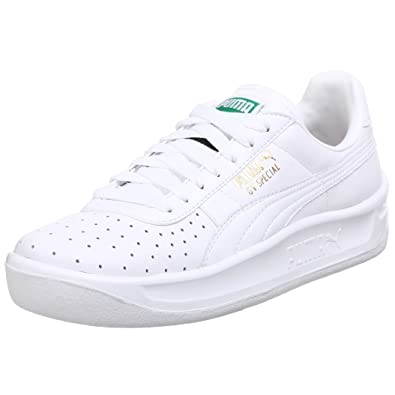 all white puma gv special