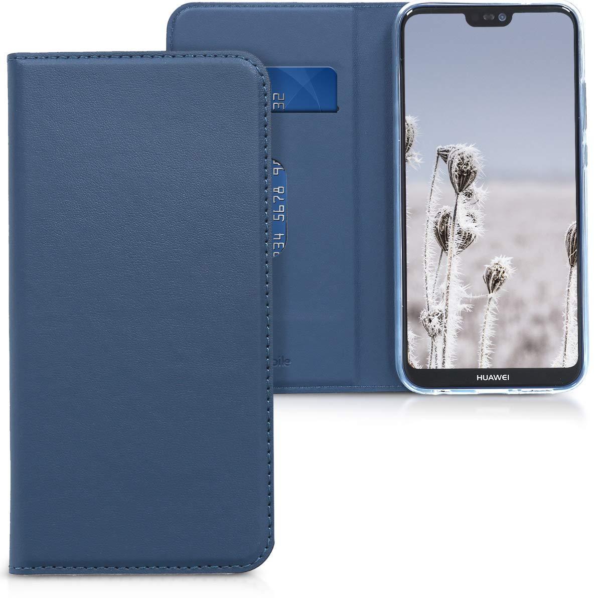 Flip Case Protettiva kwmobile Huawei P20 Lite Cover Custodia a ...