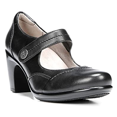 Naturalizer Women's Venue Mary Jane,Black Sheep Premium Leather,US 7.5 M