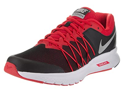 Nike 843836-006, Zapatillas de Trail Running para Hombre, Negro (Black/Metallic Silver/University Red), 47.5 EU