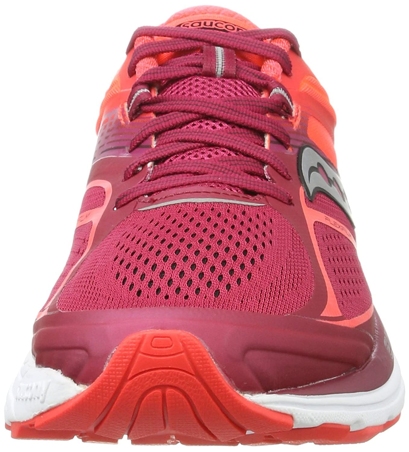 Saucony Guide 10 - Chaussures - Femme - Multicolore (Argent/Baie) - Taille: 38 hYxuVdp