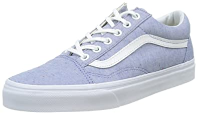 vans damen blau schwarz old skool