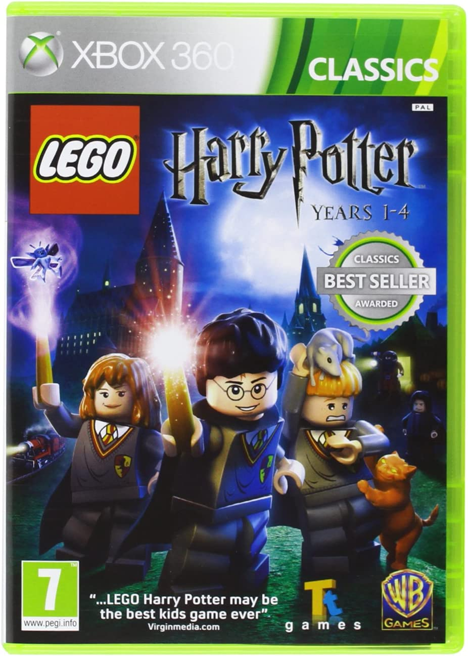 Xbox 360 Lego Harry Potter 1 4 BRAND