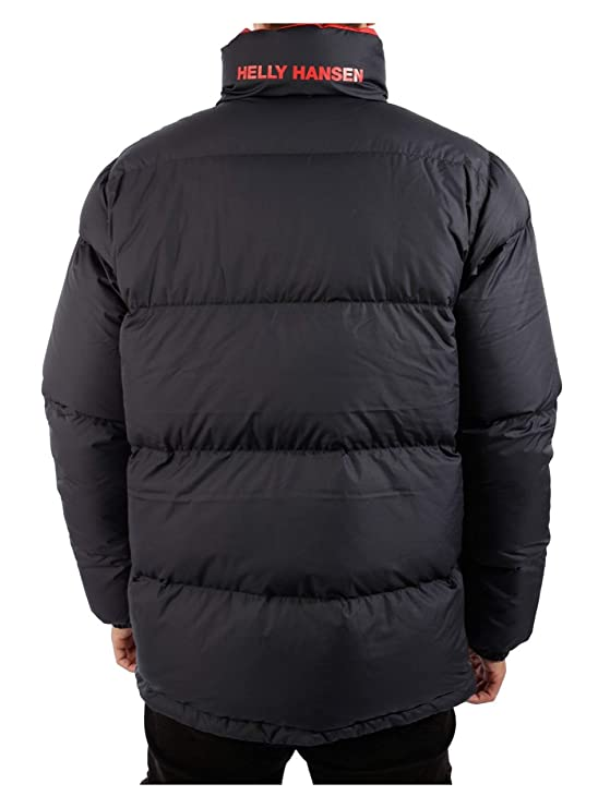 Helly Hansen Jkt Reversible Down BlackGr