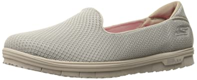 Skechers Performance Women's Go Mini Flex Admire Walking Shoe, Taupe, ...