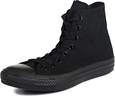 Converse All Stars Mono Classic High Top Sneaker (Schwarz