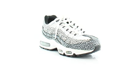 NIKE Air Max 95 Women's Athletic White/Blk/CL Gry-GM Light Brwn
