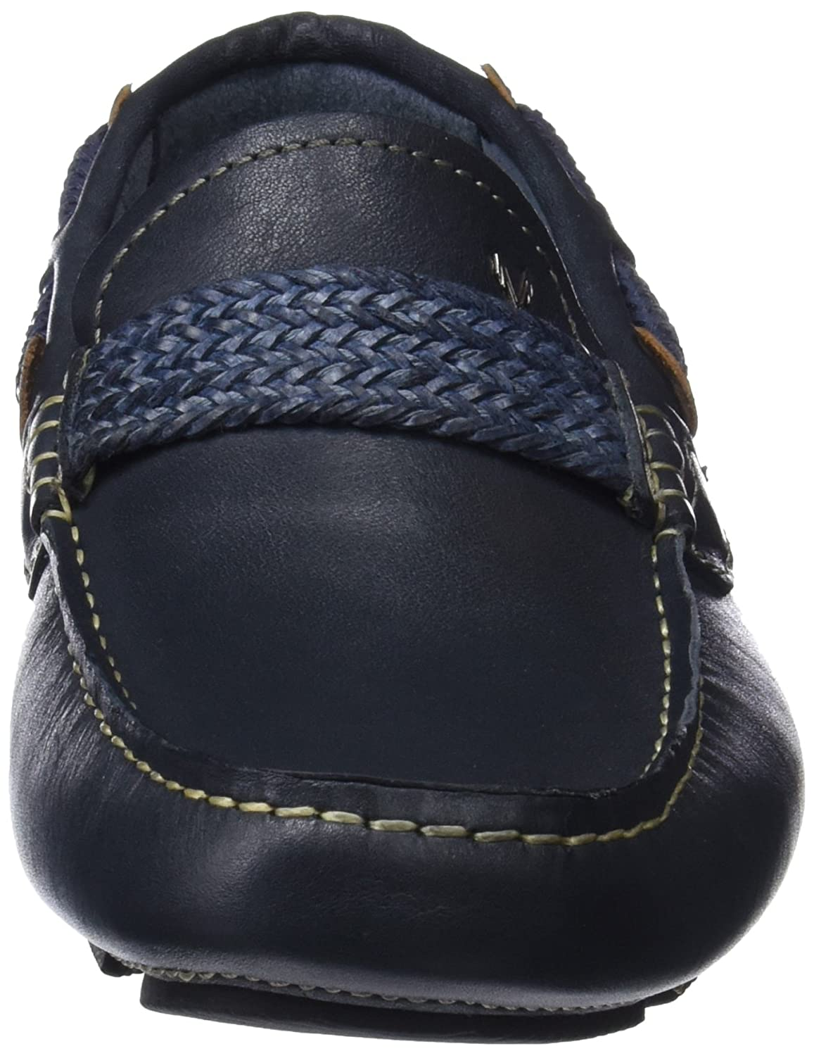 Mens Morris 1234-1329pym Moccasins, Navy Martinelli