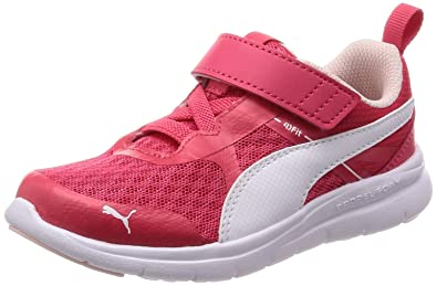 Puma Scarpe Kids Sneakers Flex Essential In Tela Rosa 190683