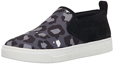 Marc by Marc Jacobs Women's Broome Skate Fashion Sneaker, Elephant  Grey/Multi, 39
