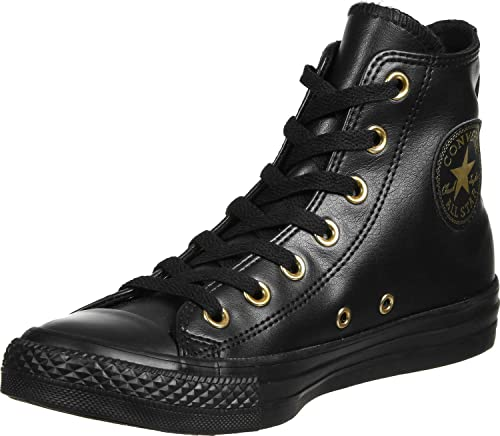 Converse All Star Hi Femme Baskets Mode Noir