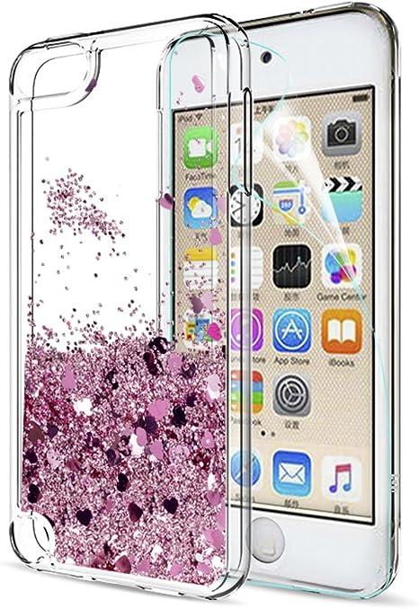 LeYi Custodia iPhone 7 / iPhone 8 Glitter Cover con HD Pellicola