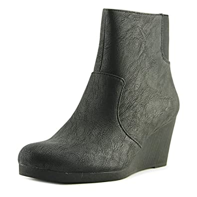 Women's Noise Wedge Heel Ankle Boot Black