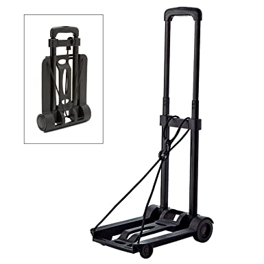 Amazon.com: BlueCosto Lightweight Portable Folding Luggage Carts ...