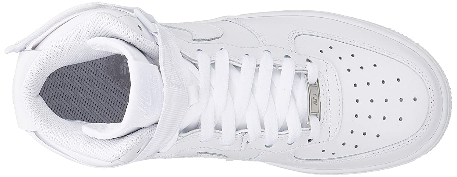 Nike WMNS Air Force 1 High Womens Sneakers 334031 105, WhiteWhite White, Size US 7