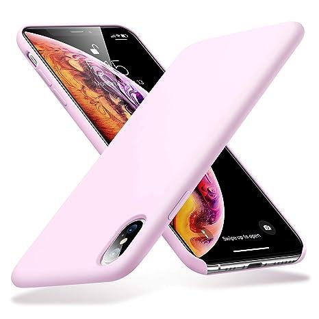 coque iphone xs fine rose