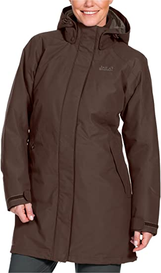 jack wolfskin 2 in 1 mantel damen