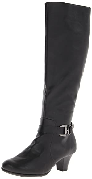 Aerosoles Women's Pariwinkle Engineer Boot,Black,8 ...