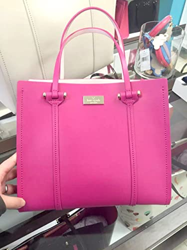 Amazon.com: NEW Kate Spade Small Elodie Arbour Hill Leather Tote ...