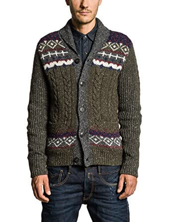 Replay Herren Strickjacke UK1040.000.G21422U, Gr. XX Large