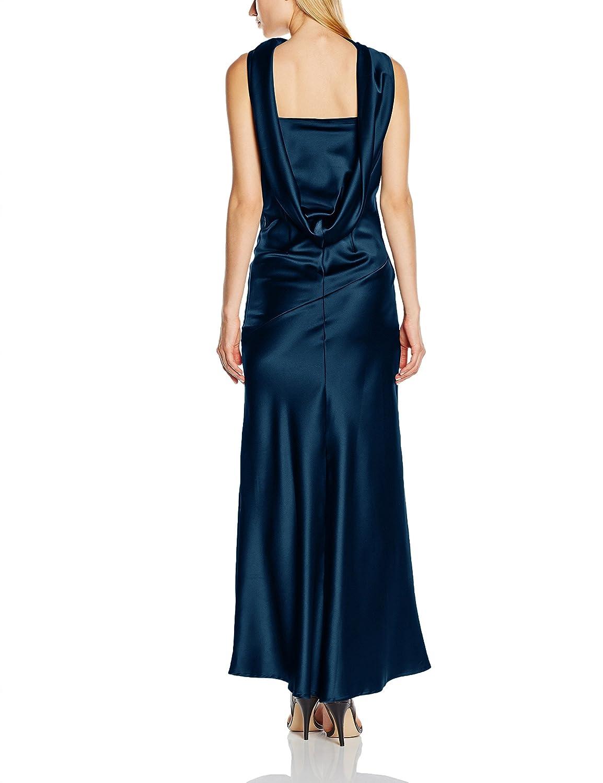 sedoso redondo noche Vestido de Ropa Squash es Amazon mujeres Hot sin y  mangas cuello para ... d9b63b4bbfb6b