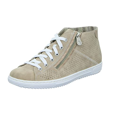 Womens L0912 Hi-Top Trainers Rieker ONsTIrY