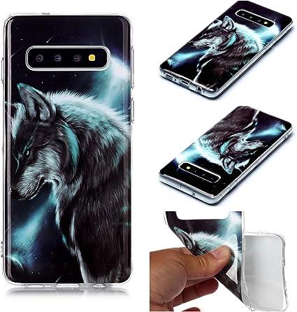 Miagon Coque Samsung Galaxy S10 Plus Ultra Doux Animal Désign ...