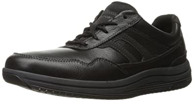 Rockport Men's Power Pace Ubal Walking Shoe- Black ...