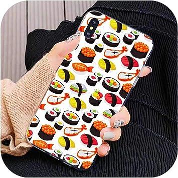 Coque Silicone Cuisine Japonaise Sushi Food pour Samsung Galaxy J1 ...