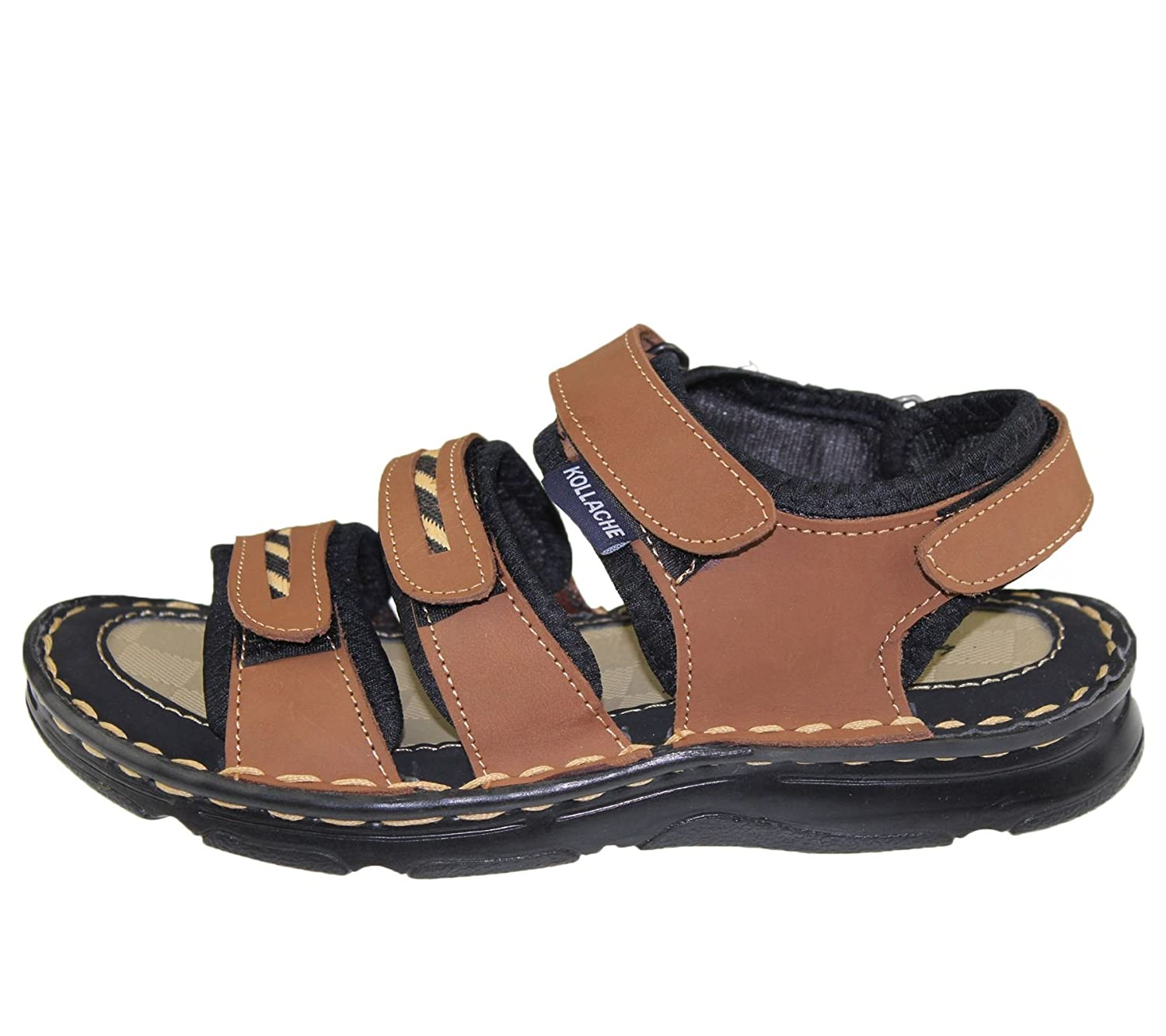 Boys Flat Sports Sandal Velcro Beach Buckle Walking Fashion Summer Casual  Slipper: Amazon.co.uk: Shoes & Bags