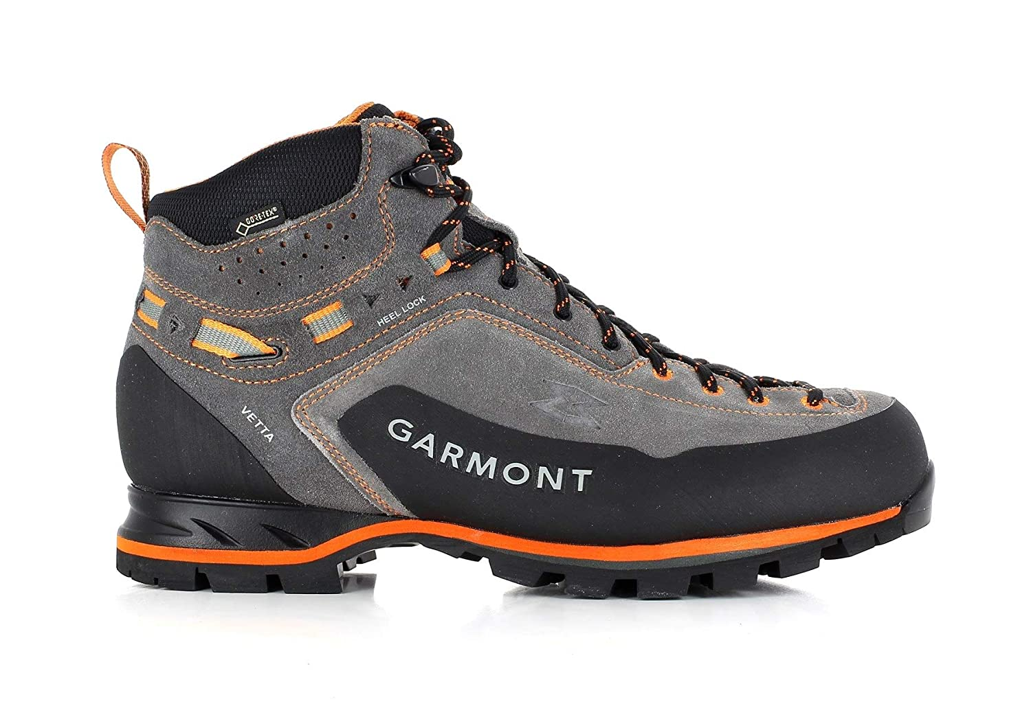 Garmont Vetta GTX Mid Cut Shoes Herren Dark Greyorange 2019