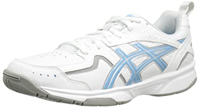 ASICS Women's Gel Acclaim Training Shoe, White/Silver/Blue, ...