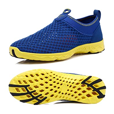 Walking Shoes Air Mesh Lightweight Running Gear Quick Dry Aqua Slip On Water Shoes For Women Men