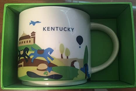 Cup Here Starbucks Kentucky Coffee You Are Collection 4Rj3LqSAc5