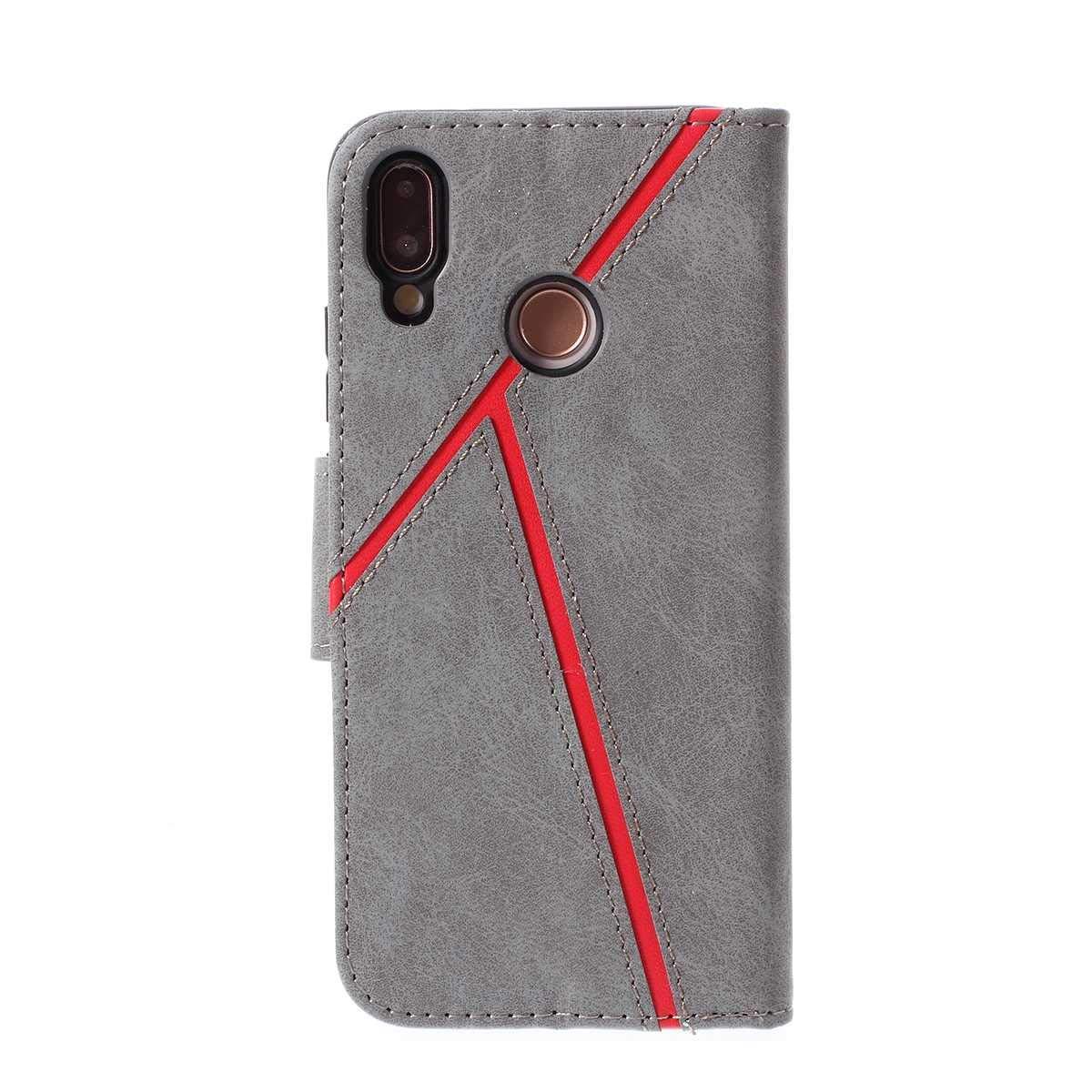 Nero DENDICO Cover Huawei P20 Lite Slim Magnetica Custodia a ...