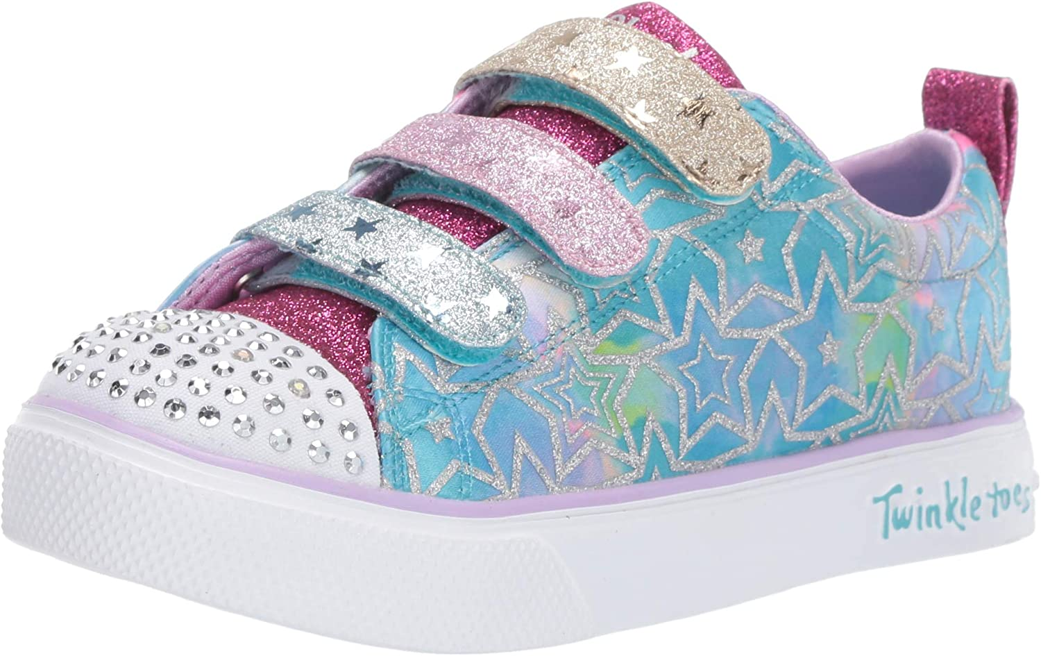Skechers Twinkle Breeze 2.0 Character, Baskets Fille: .fr
