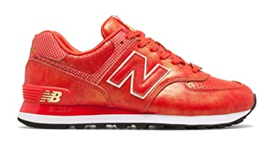 new balance 574 red womens