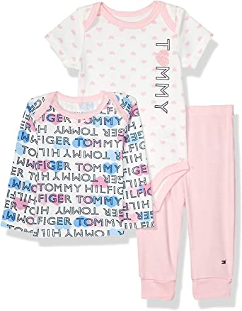 Tommy Hilfiger Baby Girls 3 Pieces Pants Set