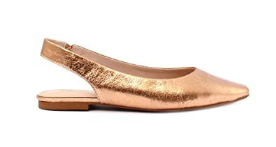 People Sandalo Demeter Gold Cracked PU wos Sandal